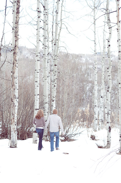 Aspen engagement session