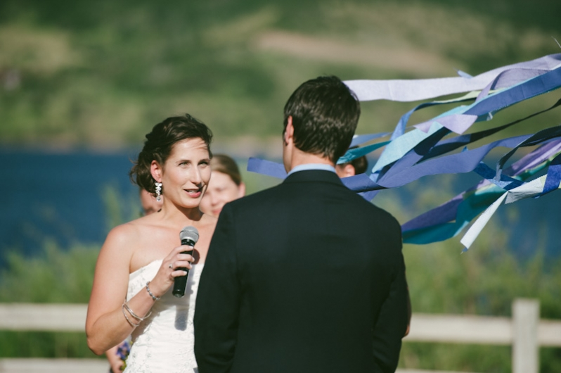 Catamount Lake Wedding Ceremony