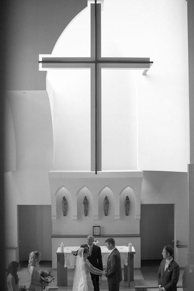 Wedding Ceremony at St. Paul