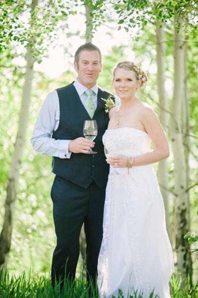 Bella Vista wedding; Bride and Groom