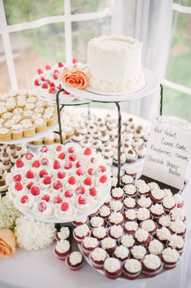 Mountain Brew cupcakes in Steamboat Springs wedding