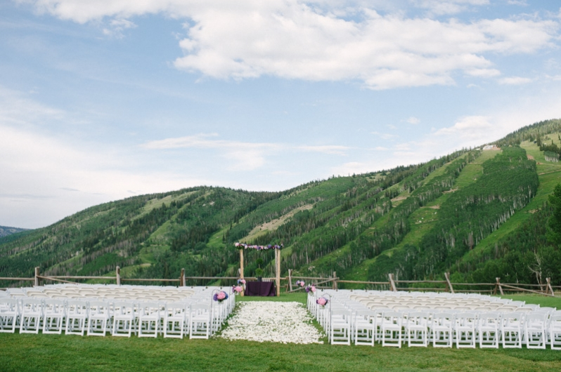 Steamboat Ski Resort Wedding at the top of Mt. Werner
