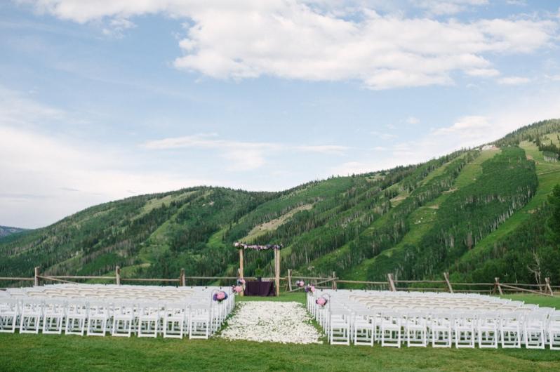 Steamboat Ski Resort Wedding at the top of Mt. Werner