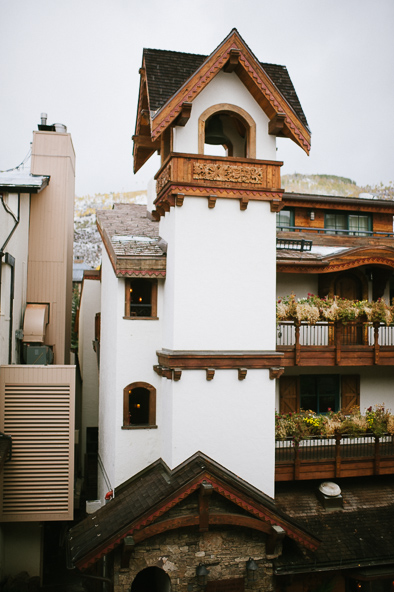Vail clock tower