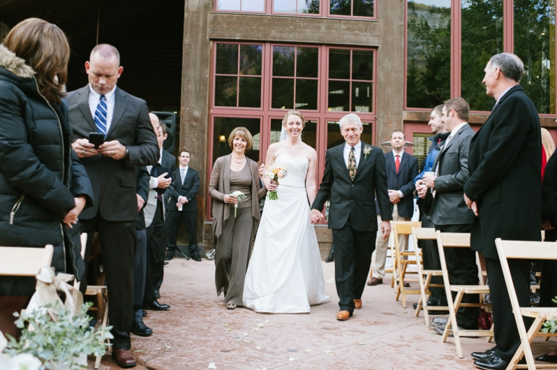 Donovan Pavilion Wedding in Vail Colorado