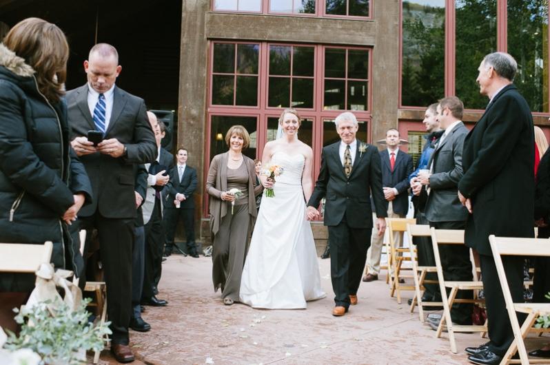Donovan Pavilion Wedding in Vail Colorado