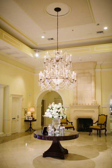 foyer at Arlington Hall at Lee Park in Dallas, Texas