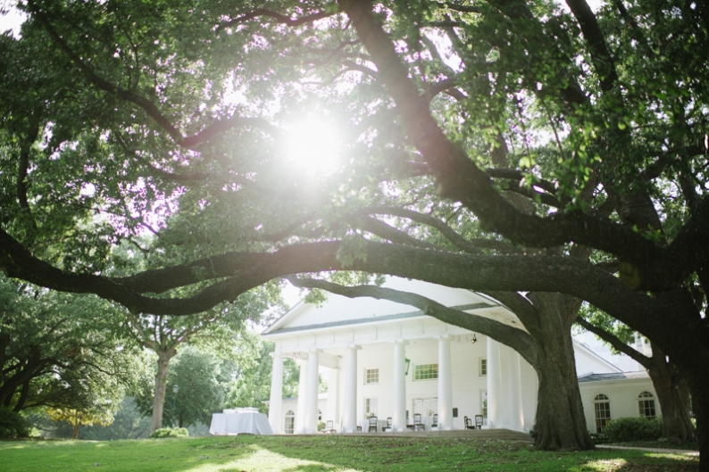 Arlington Hall at Lee Park wedding