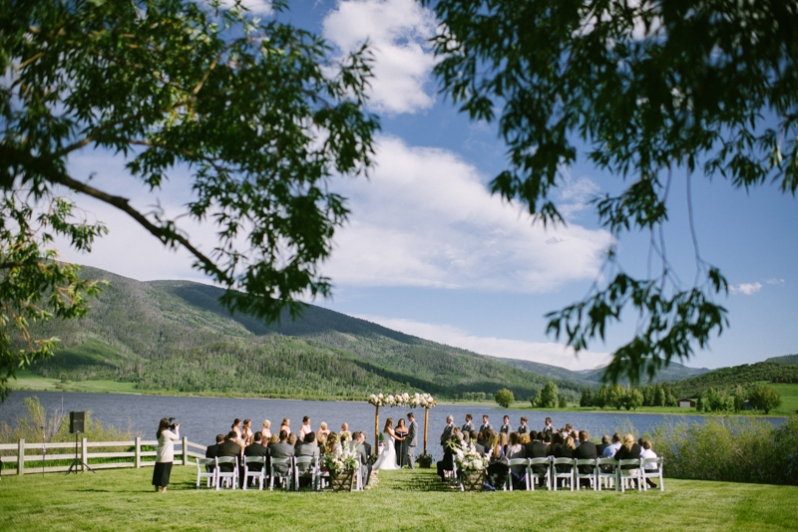 Catamount Lake House Wedding In Steamboat Springs Andy