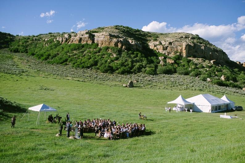 Saddleback Ranch wedding in Steamboat Springs