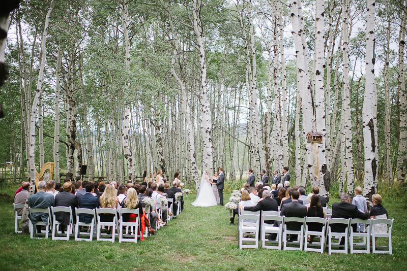 Perry-Mansfield Wedding in Steamboat Springs