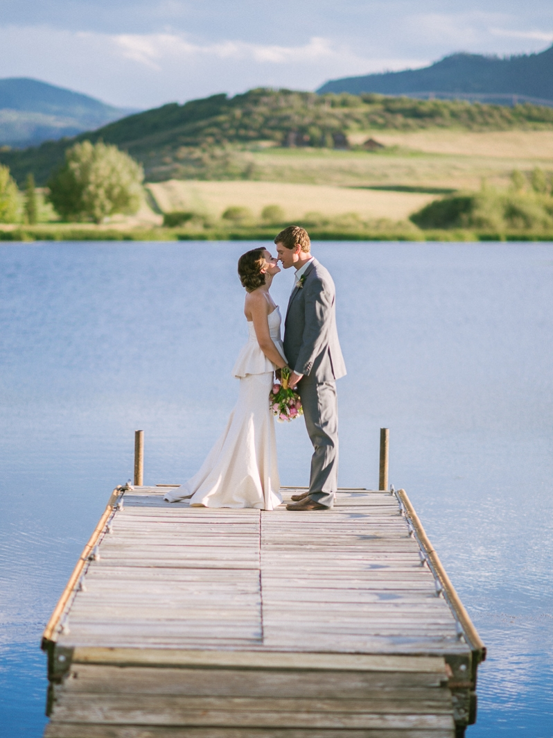 Catamount Ranch Wedding at Catamount Lake in Steamboat Springs