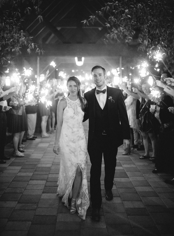 WEdding sparklers in Steamboat Springs