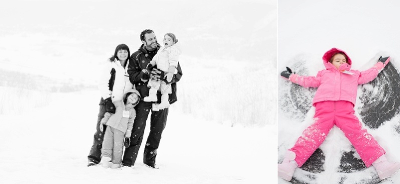 Steamboat Ski Vacation Family Photos