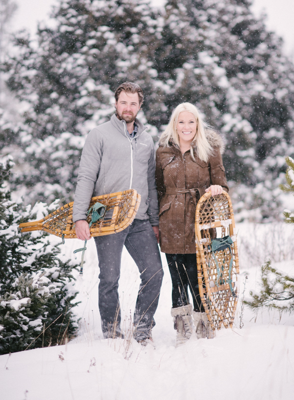 Steamboat Springs Winter engagement photos