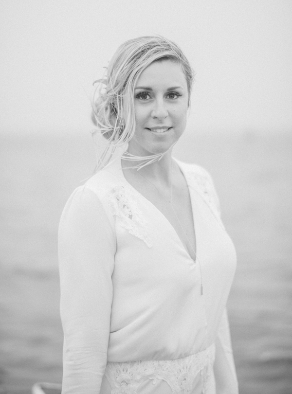Bride on Cape Cod