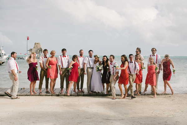 Belize Wedding Party